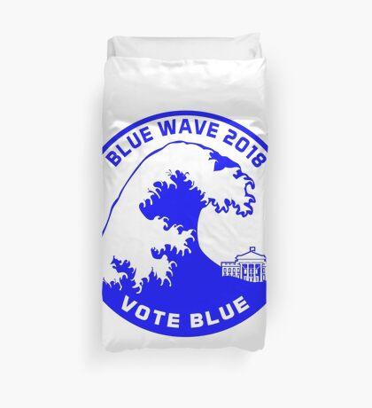 Blue Wave 2018 Duvet Cover