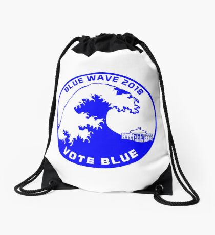 Blue Wave 2018 Drawstring Bag