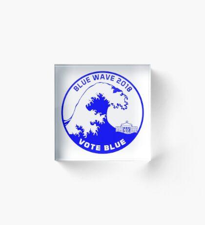 Blue Wave 2018 Acrylic Block