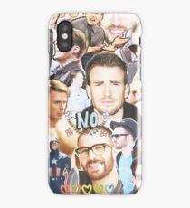 chris evans collage iPhone Case