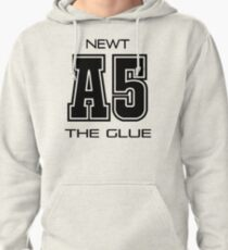 Subject A5: newt, the glue Pullover Hoodie