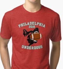Philly Fan Philadelphia Underdogs 2018 Game - Short-Sleeve Unisex T-Shirt Tri-blend T-Shirt