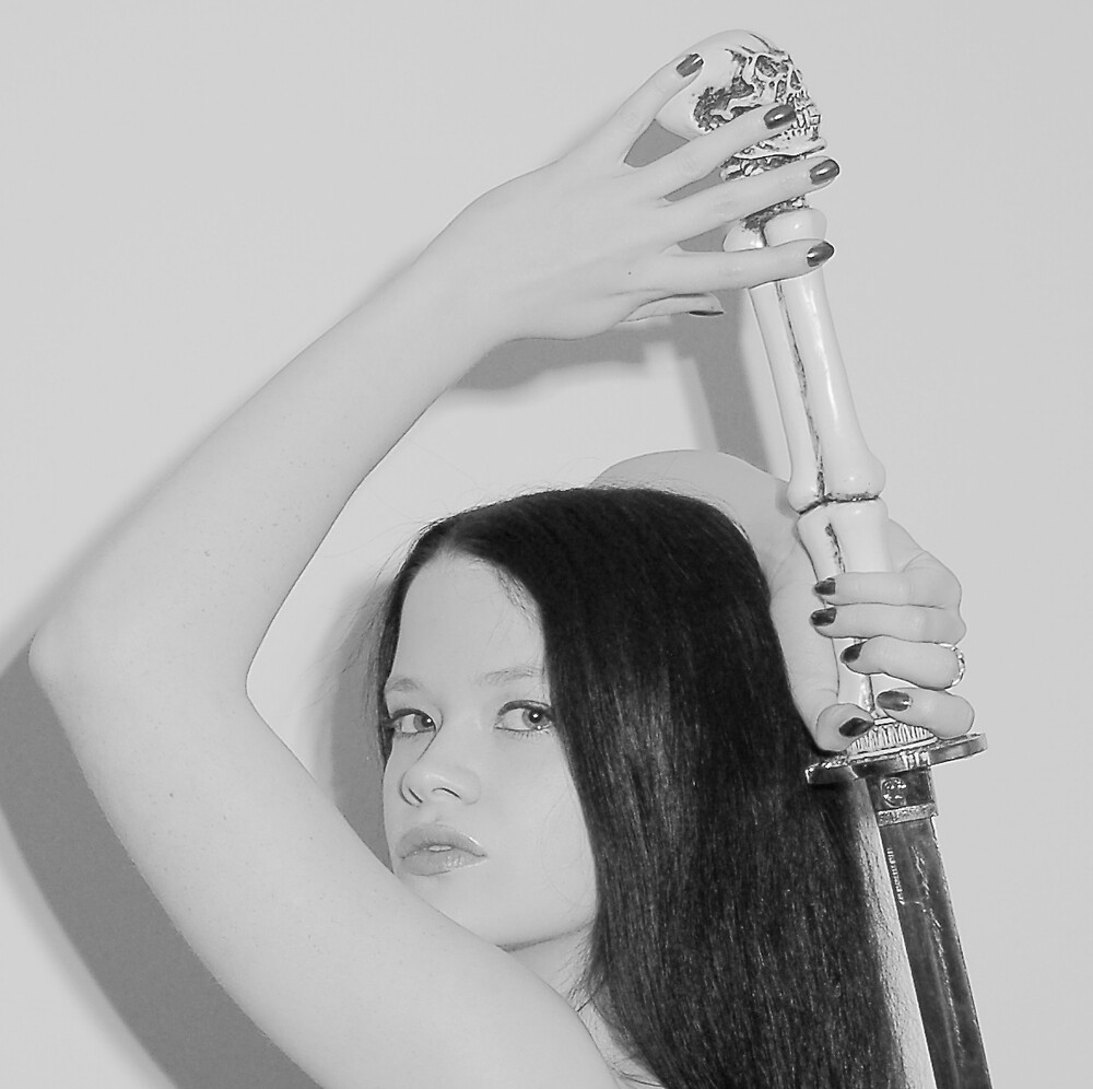 sarah&sword by clydee