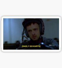 Breaking Bad - Sadly Go Karts Sticker
