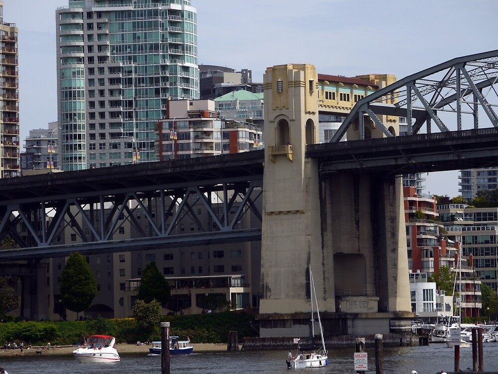 Vancouver's Burrard Bridge by Rae Tucker