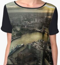 Sunrise from Shard Chiffon Top