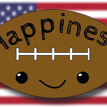 Happiness - Football by pokingstick