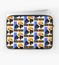 RIDE HARD-CYCLE FOR LIFE Laptop Sleeve