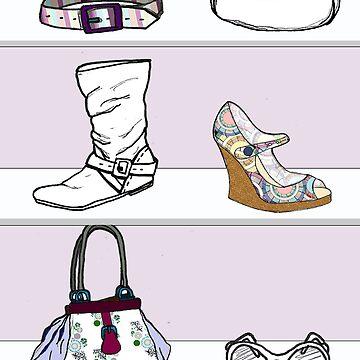 Fashion Shelf by bexwie