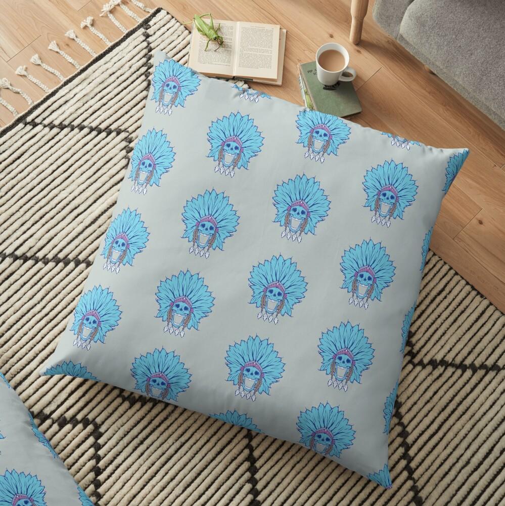 Shaman colour Floor Pillow