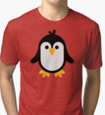 Funny penguin Tri-blend T-Shirt
