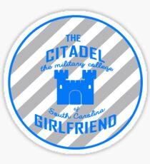 Citadel Girlfriend  Sticker