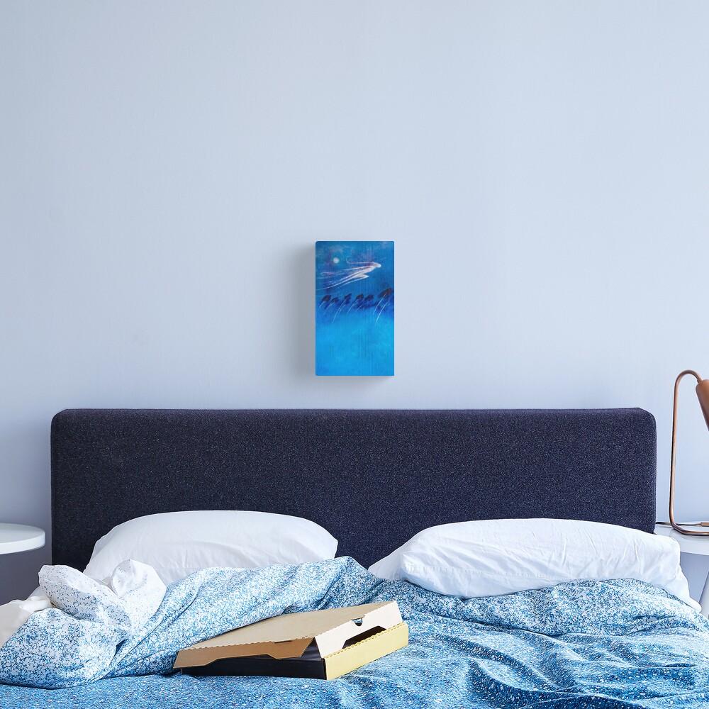 BOREAS - THE NORTH WIND Canvas Print