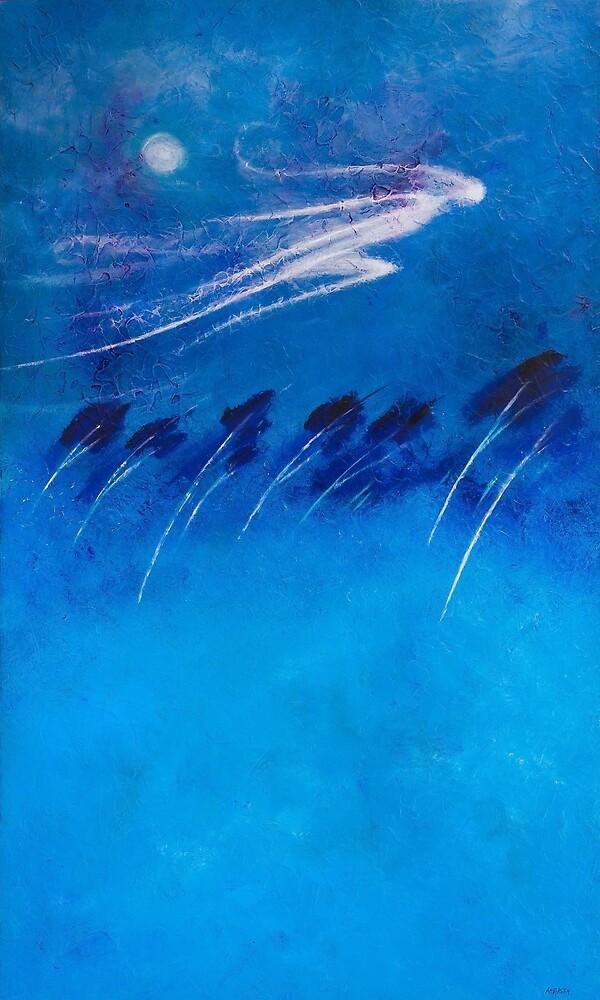 BOREAS - THE NORTH WIND by THOMAS ANDERSEN [wellington gallery]