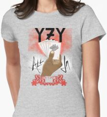 YZY ALL IN  Women's Fitted T-Shirt