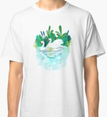 Swans in Love Classic T-Shirt