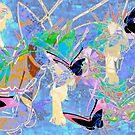 Birds, Womens & Butterflies. Japanese Series8. by Vitta