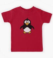 Comic penguin Kids Clothes
