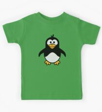 Comic penguin Kids Tee