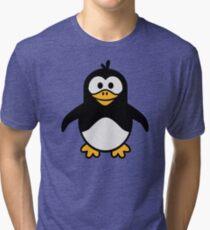 Comic penguin Tri-blend T-Shirt