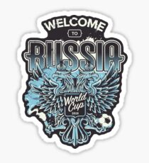 Welcome to Russia II Sticker