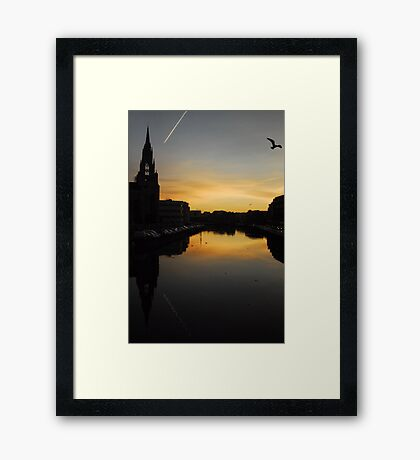 Bon Dia For Pilar Framed Print