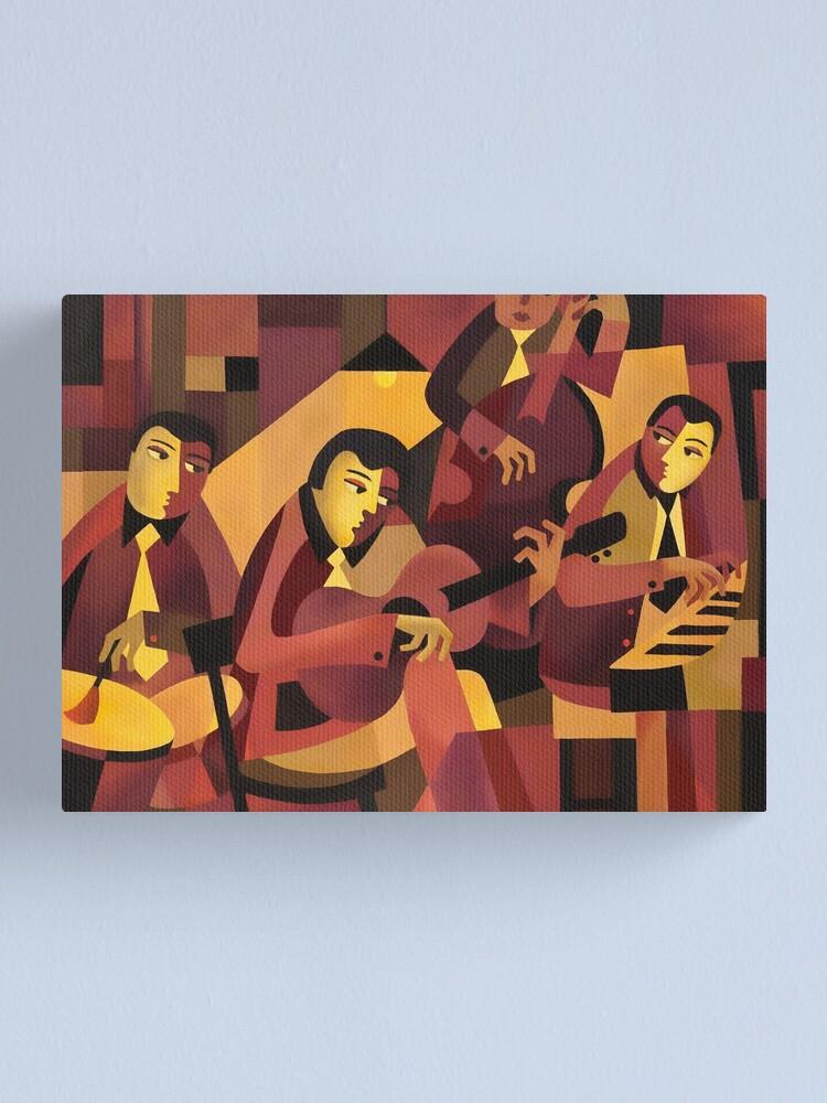 Alternate view of QUARTET II Canvas Print