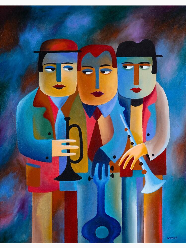 THREE MUSICIANS by arttas