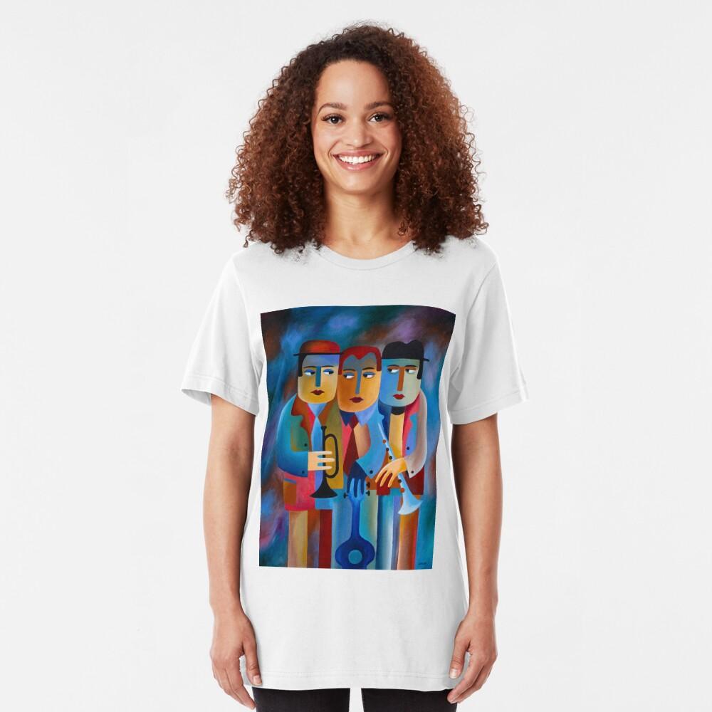 THREE MUSICIANS Slim Fit T-Shirt