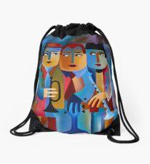 THREE MUSICIANS Drawstring Bag