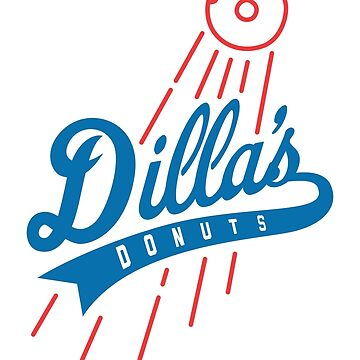 Dilla's Donuts Dodgers by DaviesBabies