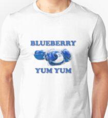 blueberry yum yum pods  Unisex T-Shirt