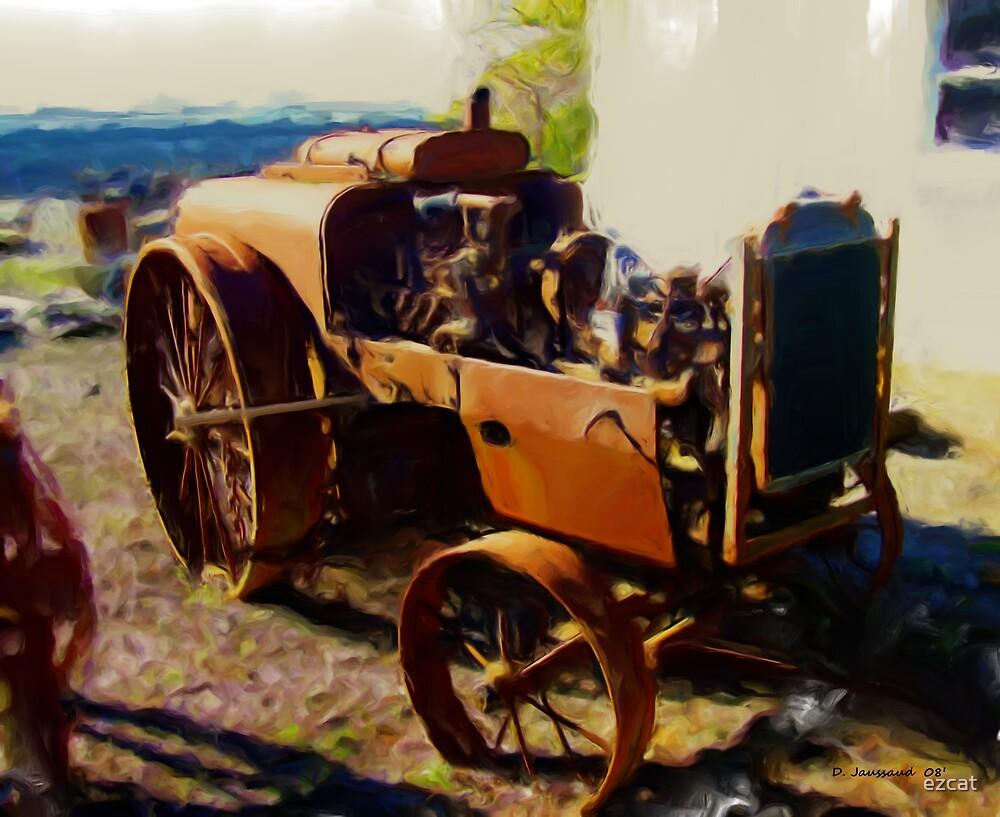 Rusting Old Farm Equipment by ezcat