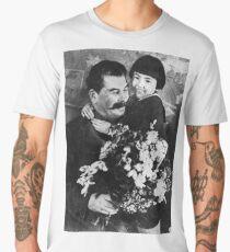 Stalin's cult of personality #Сталин #ИосифВиссарионович #Ежов #Берия #Жданов #Молотов #Ленин #ГУЛАГ #Нориллаг #Культличности #репрессии #депортация #тюрьма #казнь #политзаключенный #Stalin Men's Premium T-Shirt