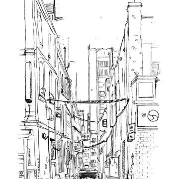 Melbourne Laneway by JeremyLey