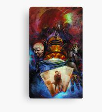 Doctor Who - Sticker Canvas Print