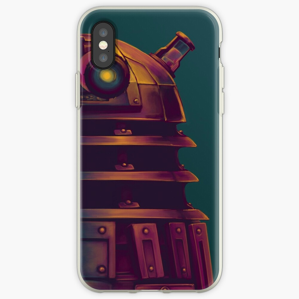 Dalek - Poster (Doktor Who) iPhone-Hüllen & Cover