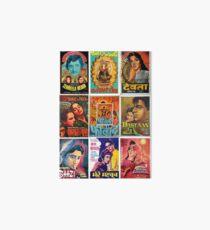 Vintage Bollywood Pattern Art Board Print