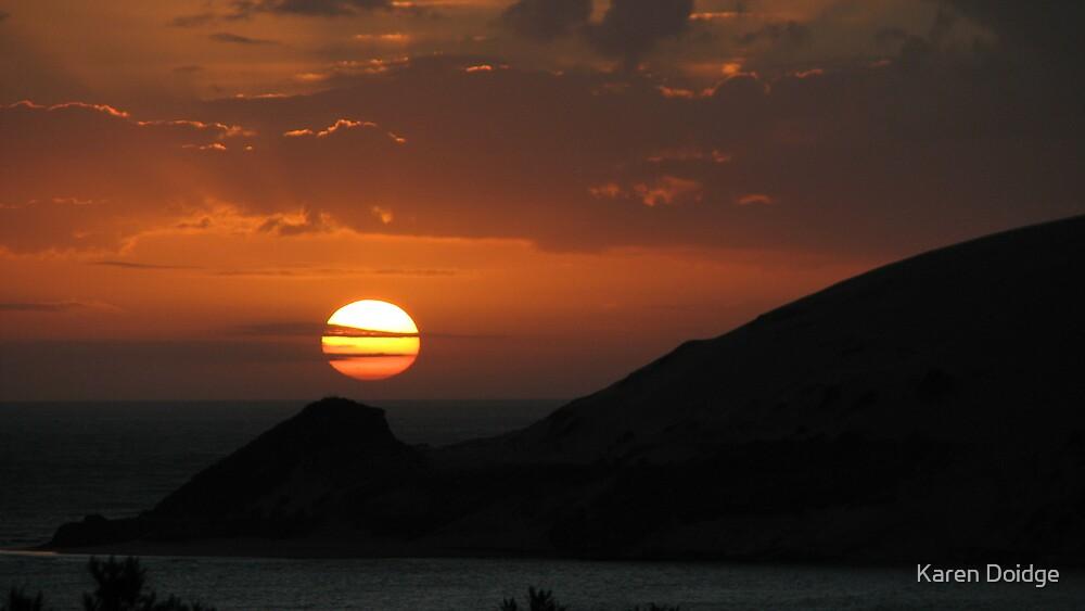 Colours of the sun by Karen Doidge