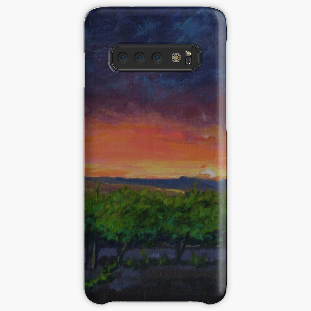Vineyards at Sunset Samsung Galaxy Snap Case