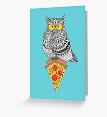 Midnight Snack Greeting Card