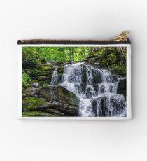 Great waterfall Shypit in Carpathian mountains Studio Pouch
