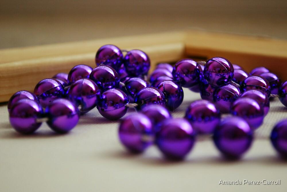Purple Beads by Amanda Perez-Carroll