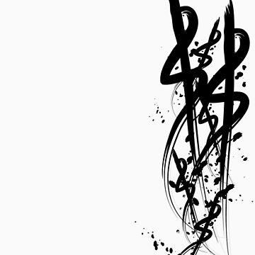 Scribble Splat by AdelStemen