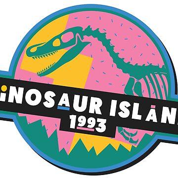 Dinosaur Island 1993 by JustSandN