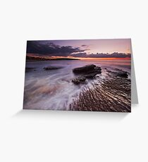 Twilight Glow Greeting Card