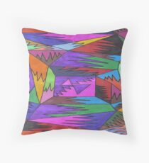 Randomness Throw Pillow