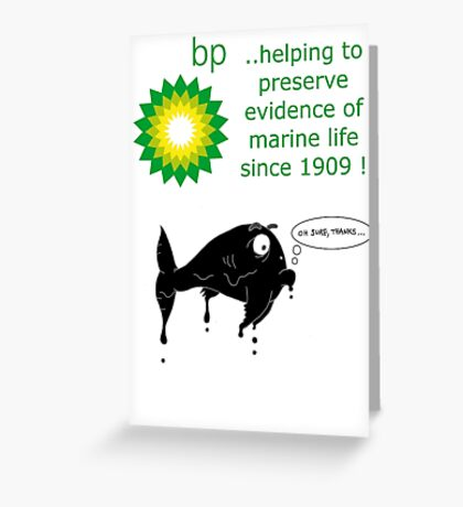 BP - just trying to help out Greeting Card