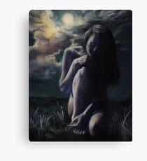 Moonbathing II Canvas Print