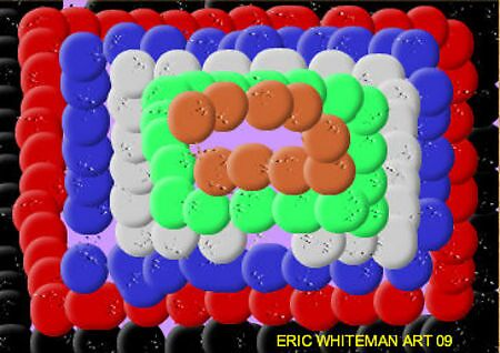 (GET REAL ) ERIC WHITEMAN ART  by eric  whiteman